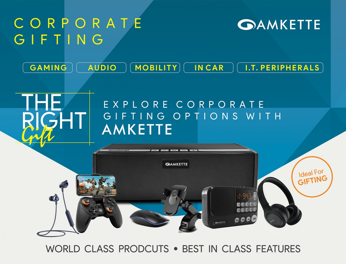 Amkette is the best corporate gifting company